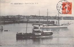 35 SAINT MALO ENTREE DU PORT - Saint Malo