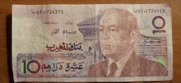 1987 - Maroc - Morocco - 10 DIRHAMS, Hassan II, N° 67 724373 - Maroc