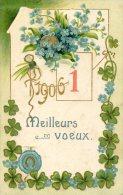 Meilleurs Voeux 1906 - Cartes Postales
