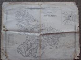 Carte Canton De Lavelanet ,ard De Foix  ,53x70, Ariege - Cartes Géographiques