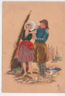 Illustrée Par Naudy - La  Picardie - Costumes Régionaux Pêche - Picardie