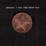 BAHAMAS    1  CENT  1998  (KM # 59a) - Bahamas