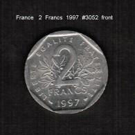 FRANCE    2  FRANCS  1997  (KM # 942.1) - France
