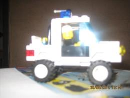 Lego 6533 Jeep de Police avec plan 100 % Complet voir scan