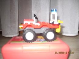 Lego 4914 Buggy Sapeurs-Pompiers avec plan 100 % Complet voir scan