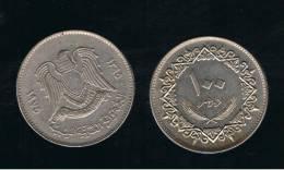 LIBIA -   100 Dirhams  1975  KM17 - Libia