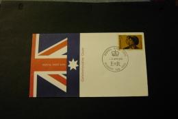 Australia Royal Visit Hobart Special Cancel 1970 A04s - Marcophilie