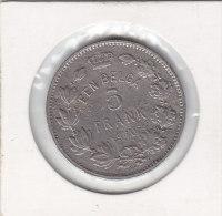 5 FRANCS Nickel Albert I 1930 FL Pos B - 09. 5 Francs & 1 Belga