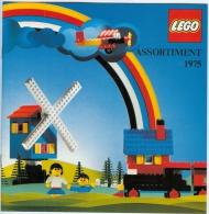 Catalogue En Couleur LEGO - 16 Pages (Couverture Comprise) En Couleur - Assortiment 1975 - Catalogs