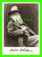 CÉLÉBRITÉS, WALT WHITMAN (1819-1892) - POÈTE HUMANISTE AMÉRICAIN - FOTOFOLIO - PHOTO BY GEORGE C. COX - - Writers