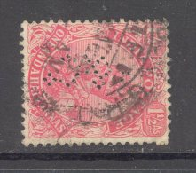 INDIA, Perfin ´H & Co´ On 1911 George V (wmk Large Star) Stamp - India (...-1947)