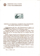 ITALIA  1958 - Bollettino Ufficiale P.TT. -  (italiano-francese) - Flumerndosa - Idroelettricità - Scienze - Paquetes De Presentación