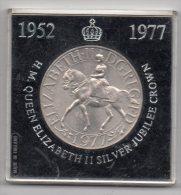 H. M. Queen Elizabeth Silver Jubilee Crown 1952 - 1977 - National Westminster Bank Limited - Royaux/De Noblesse