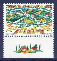 Israel - 1984, Michel/Philex No. : 971, - MNH - *** - - Ongebruikt (met Tabs)