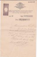 01342 Pagares Endosables 1893 - España
