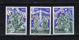 Monaco Timbres De 1982 Neufs** N°1352 A1354 - Nuovi