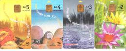 Malta - Malte - 4 Card Set - Jahreszeiten - Malta
