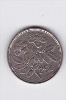25 Cents - -1991- Fleurs  KM 97 - Malta