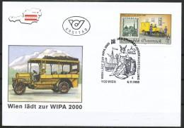 Österreich - FDC -   Mi.Nr.    2270     21. Jan. Internationale Briefmarkenausstellung WIPA 2000, Wien - FDC
