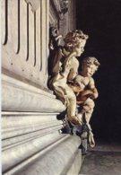 Roma - Cartolina ACQUASANTIERA San Pietro, Città Del Vaticano - PERFETTA F70 - Sculture
