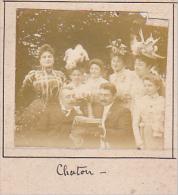AE- 2 Photos Stereoscopiques Stereo 40x45mm Vers 1900. Chatou Yvelines France -1900 Femmes Journal - Photos Stéréoscopiques
