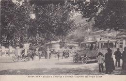 Chianciano-stazione Termale-corriera X Montepulciano-viag.1924 Auto Postale - Siena