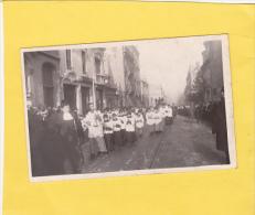 CPA  Photo -  54 - NANCY - Obsèques Cardinal MATHIEU - 30 Octobre 1908 -  Belle Pub Amer PICON - Nancy