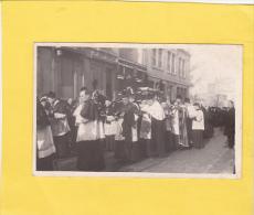 CPA  Photo -  54 - NANCY - Obsèques Cardinal MATHIEU - 30 Octobre 1908 -  Belle Pub Amer PICON Gros Plan Corbillard - Nancy