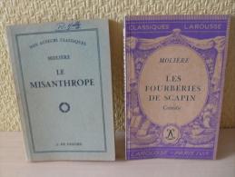 Livres Fourberies De Scapin Et Le Misanthrope De Molière - Livres, BD, Revues