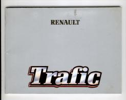 Notice D'utilisation Et D'entretien Renault Trafic - Livres, BD, Revues