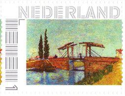 Persoonlijke Postzegel G12A2 Mobiele OKI531 Printer Filateliebeurs 2013 NIEUW!! Vincent Van Gogh De Brug Van Langlois - Pays-Bas