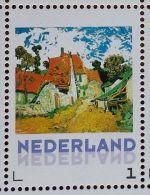 Persoonlijke Postzegel B13 Gegomd Mobiele OKI531 Printer Postex 2013 NIEUW!! Vincent Van Gogh Red Village - Pays-Bas