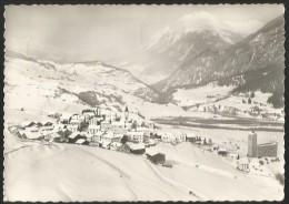 RIOM Oberhalbstein Lenzerhorn Parsonz Albula Flugaufnahme Mit Dem Flugzeug über.....1960 - GR Grisons
