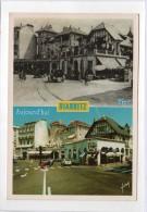 Biarritz, Hier Et Aujourd´hui, Avenue Edouard VII - Ed Yvon - YT 2618 Et 2714 - Gilet/Tours - Flamme Anglet - Biarritz