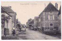 Pagny La Ville - La Grande-Rue (Café Du Centre, Animation) - Pas Circulé - France