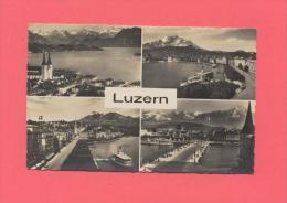 SUISSE : LUZERN - Multivues - LU Luzern