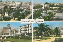 CPM - 66 - Souvenir De PERPIGNAN (Ed. Pages) - Perpignan