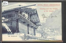 GRINDELWALD  - HOTEL BEAR  - TB - BE Berne