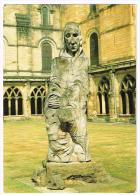 M333 Durham - Cathedral - The Statue Of Saint Cuthbert / Viaggiata 1997 - Durham