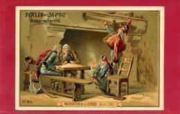 PACIFICATION DE LA VENDEE AVRIL 1795 GENERAL HOCHE CARTE CHROMO EN BON ETAT - France