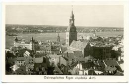 RIGA, Galvaspilsetas Rigas Vsiparejs Skats, - Lettland