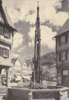 Einladung Zur 50er Feier Des Jahrgangs 1906, Bad Urach 1956 - Mitteilung