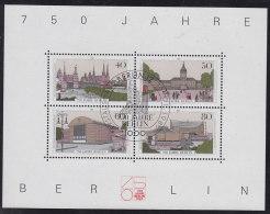 BERLIN Block 8, Gestempelt ERSTTAG, 750 Jahre Berlin 1987 - Berlin (West)
