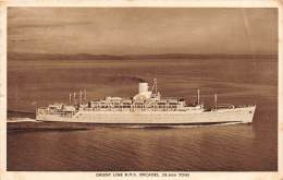 8019   R.M.S. Orcades, Orient Line - Steamers