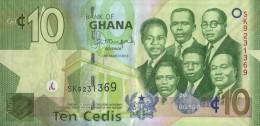 GHANA - REPUBLIC OF GHANA - GH¢10. Banknote  Issued 6th March, 2013 - Ghana