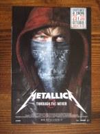 Metallica Trought The Never Movie Film Carte Postale - Unclassified
