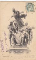 Thematiques 14 Calvados Formigny Monument Commemoratif De La Bataille 15 Aout 1450 Ecrite Timbrée 1904 - Bayeux