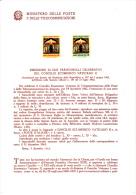 ITALIA  1962 - Bollettino Ufficiale P-TT.  - (italiano-francese) - Concilio - Religione - Arte - Pittura - Paquetes De Presentación