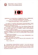 ITALIA  1962 - Bollettino Ufficiale P-TT.  - (italiano-francese) - Balzan - Fondazione - Paquetes De Presentación
