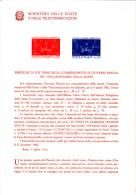 ITALIA  1962 - Bollettino Ufficiale P-TT.  - (italiano-francese) - Pascoli - Letteratura - Paquetes De Presentación